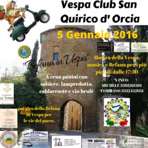 Vespa raduno Befana 2016