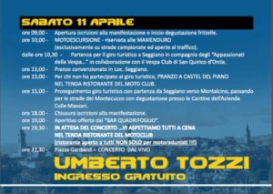 Motoraduno Castel Piano 2015 Sabato