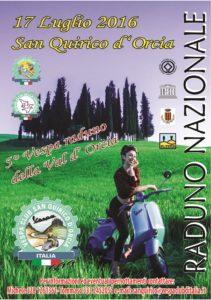 Volantino Vespa Raduno 2016 fronte