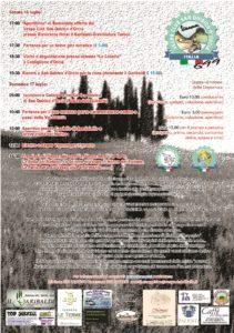 Volantino Vespa Raduno 2016 retro
